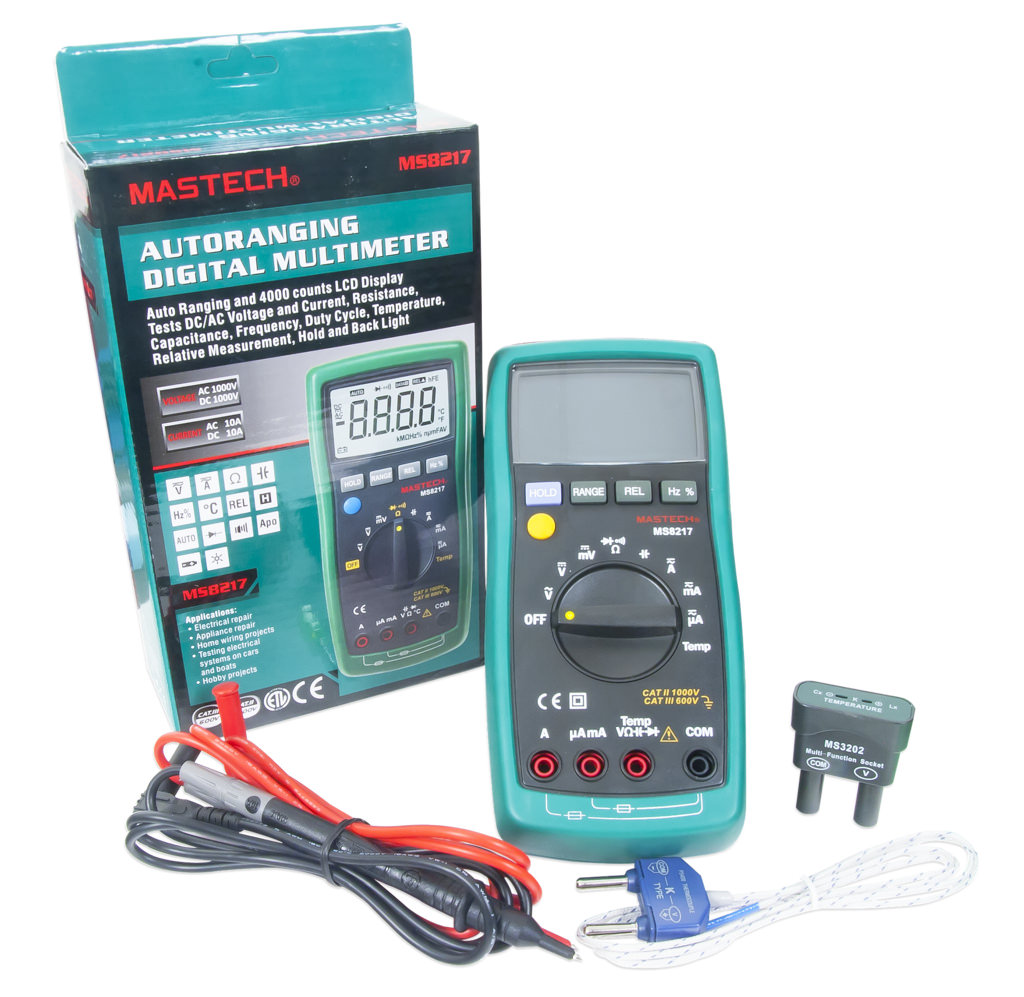Autorange Digital Multimeter (MS8217) | Trenz Electronic GmbH Online ...