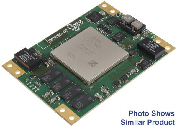 RFSoC-Modul mit Xilinx Zynq UltraScale+ RFSoC ZU47DR-1, 4 GB DDR4, 6,5 x 9 cm