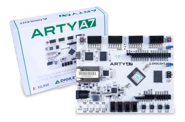 Arty A7-100: Artix-7 FPGA Development Board for Makers and Hobbyists