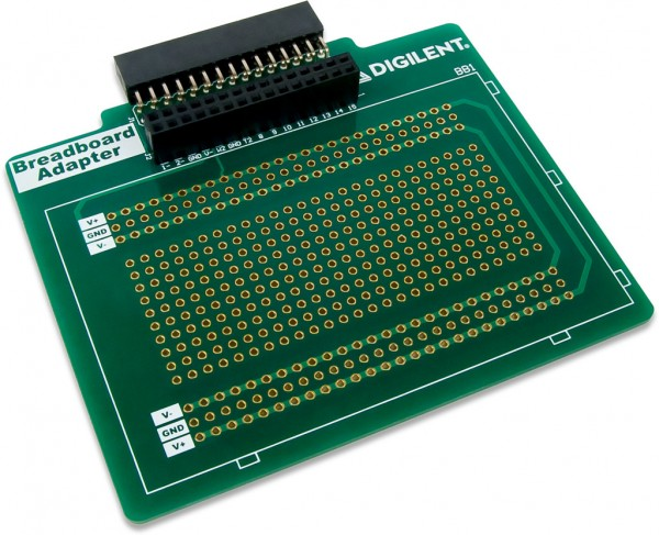 Breadboard Adapter for Analog Discovery
