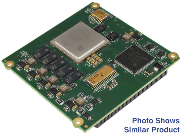 Space-grade MPSoC Module with Xilinx Zynq UltraScale+ ZU6EG-1I, 4 GByte DDR4 ECC