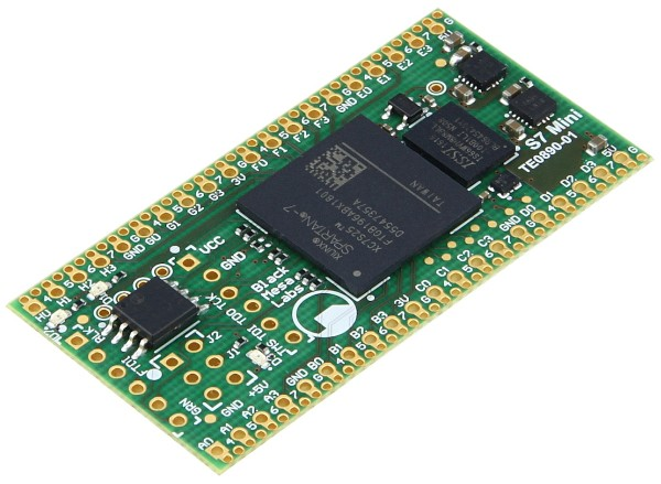 S7 Mini - Fully Open-Source Modul mit Xilinx Spartan-7 7S25, 64 Mbit HyperRAM