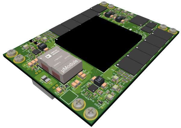 MPSoC-Modul mit Zynq UltraScale+ ZU17EG-2E, 8 GB DDR4 (PS), 8 GB DDR4 (PL)