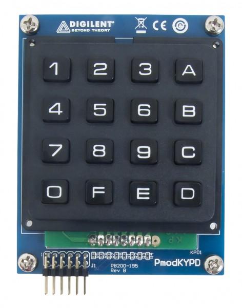 Pmod KYPD: Keypad mit 16 Tasten