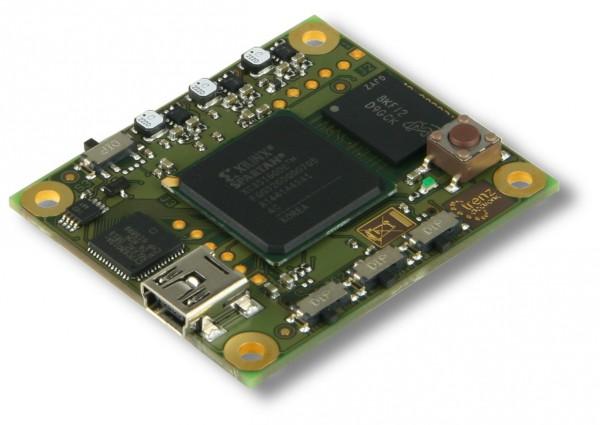 FPGA Module with Spartan-3E 1600K, 01IBMLP, 512 MBit DDR RAM, USB 2.0
