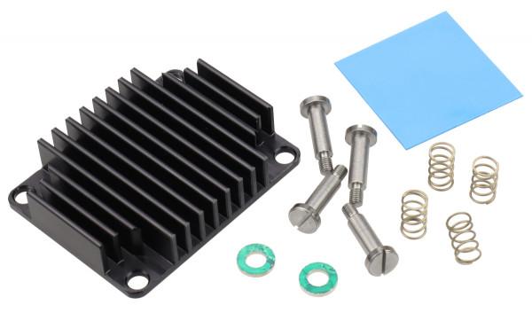 Kühlkörper für Trenz Electronic Module TE0715, federnd gelagert