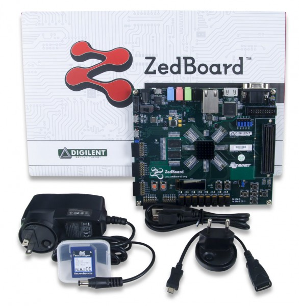 ZedBoard Zynq-7000 ARM/FPGA SoC Development Board Academic