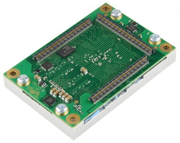 SoM mit Xilinx Zynq-7030 und Heat Spreader,1 GByte DDR3L SDRAM, 5,2 x 7,6 cm