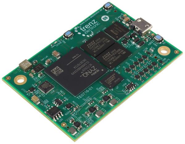 TE0716 - SoM mit Xilinx Zynq-7000 SoC XC7Z020, 1 GByte DDR3L, 45 x 65 mm