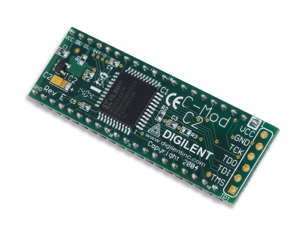 C Mod With Xilinx Coolrunner Ii Cpld Trenz Electronic Gmbh Online Dc215 Serial Cable Wiring Diagramgif Shop En