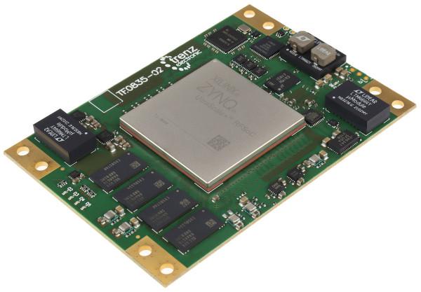 RFSoC-Modul mit Xilinx Zynq UltraScale+ RFSoC ZU47DR-1E, 4 GB DDR4, 6,5 x 9 cm
