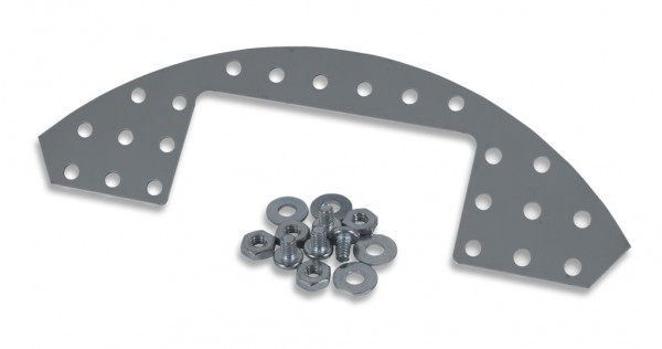 Rounded Plate Expansion Kit: Punched Metal Expansion Plate