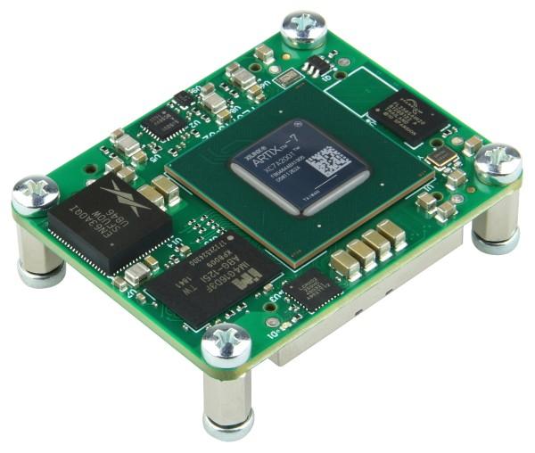 FPGA-Modul mit Xilinx Artix-7 XC7A200T-2FBG484C, 4 x 5 cm, 1 GByte DDR3L