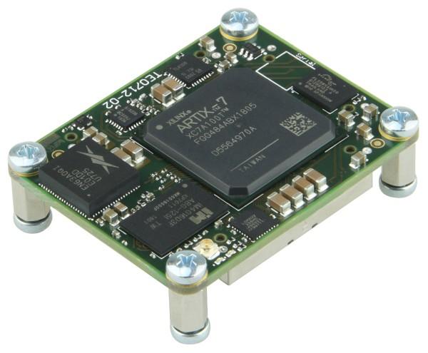 FPGA Module with Xilinx Artix-7 XC7A100T-1FGG484I, 1 GByte DDR3, 4 x 5 cm