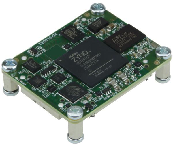 SoC-Modul mit Xilinx Zynq XC7Z015-1CLG485I, 1 GByte DDR3L, 4 x 5 cm