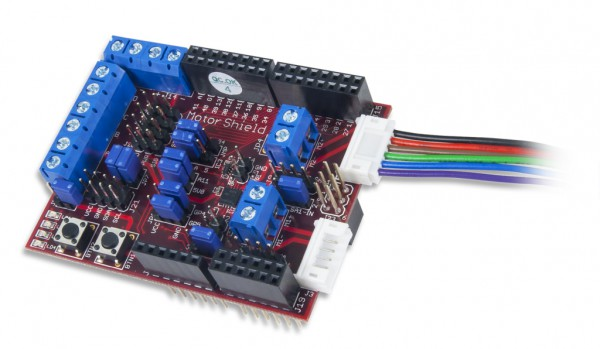 chipKIT Motor Shield (Add-on Board)