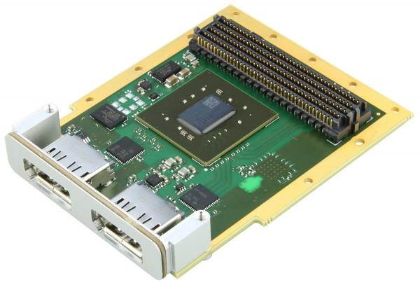 FMC-Karte mit DisplayPort Ein- und Ausgang