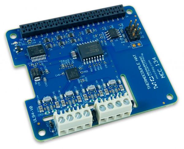 MCC 134 Thermoelement-Messung DAQ HAT für Raspberry Pi®