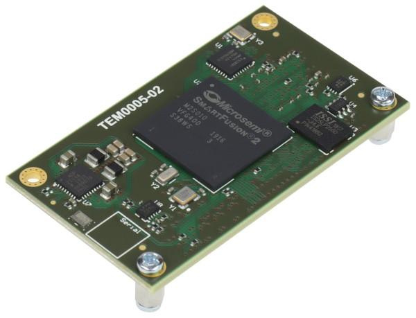 FPGA-Modul mit Microsemi SmartFusion2 M2S010 SoC, 256 MByte DDR3 SDRAM