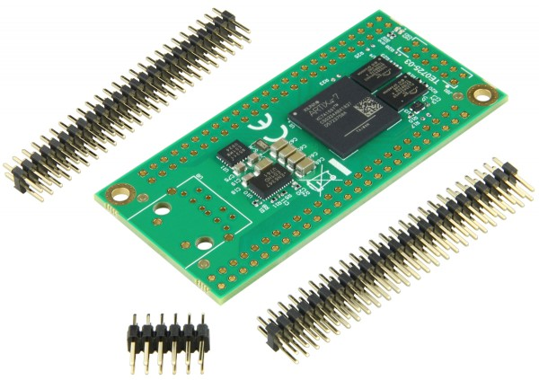 FPGA Module with Xilinx Artix-7 XC7A100T-2CSG324I, 2 x 50 Pin with 2.54 mm pitch