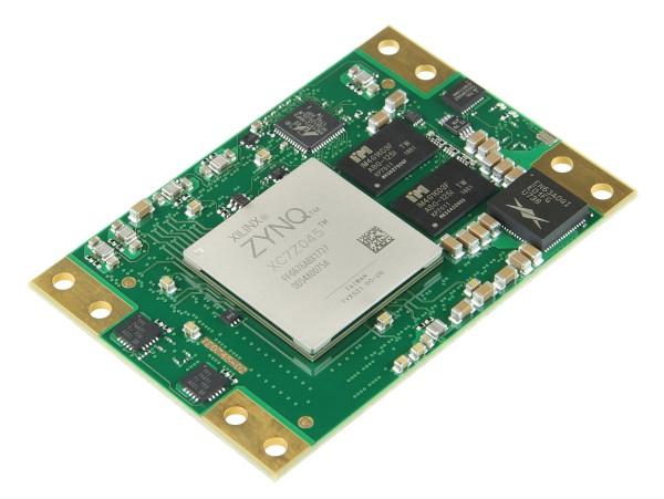 SoM with Xilinx Zynq XC7Z045-3FFG676E, 1 GByte DDR3L SDRAM, 5.2 x 7.6 cm