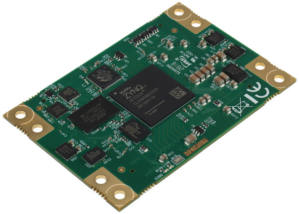 SoC-Modul mit Xilinx Zynq-7020, 512 MByte DDR3L SDRAM, 3 x Ethernet