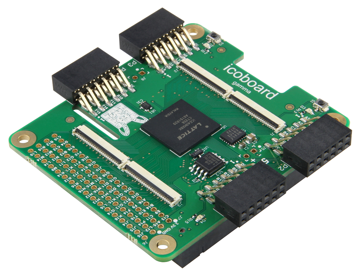icoBoard Version 1 1 with 8 MBit SRAM | OnSite Broadcast