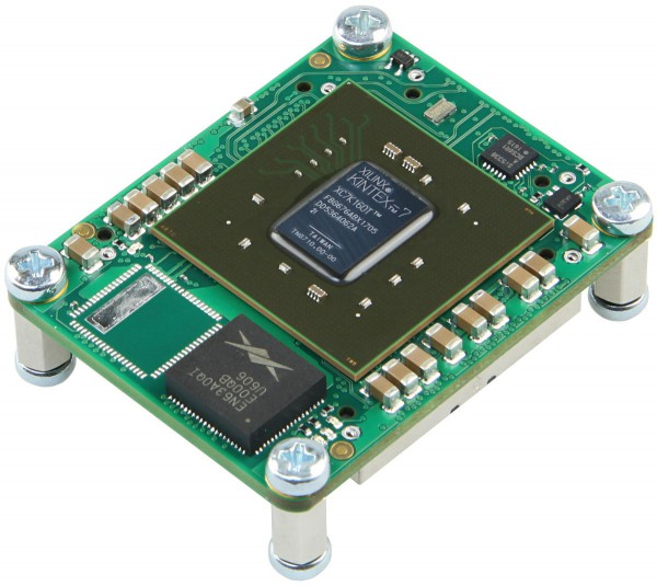 FPGA Module with Xilinx Kintex-7 XC7K160T-2IF, 4 x 5 cm standard footprint