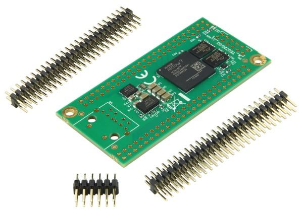FPGA-Modul mit Xilinx Artix-7 XC7A15T-1CSG324C, 2 x 50 Pin mit 2,54 mm Raster