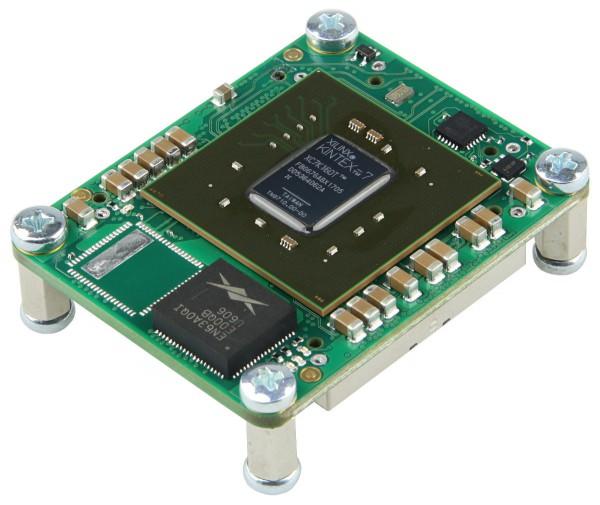 FPGA Module with Xilinx Kintex-7 XC7K160T-2CF, 4 x 5 cm standard footprint