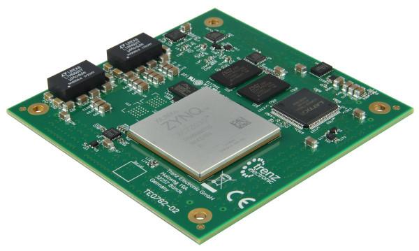 High-Performance Xilinx Zynq Z-7035-Modul, 1 GByte DDR3, 8,5 x 8,5 cm