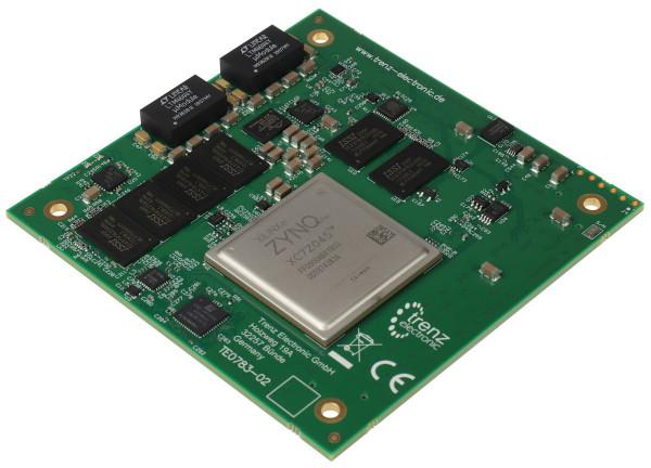 Leistungsstarkes SoM mit Xilinx Zynq Z-7045, Speicher auf PS+PL, 8,5 x 8,5 cm