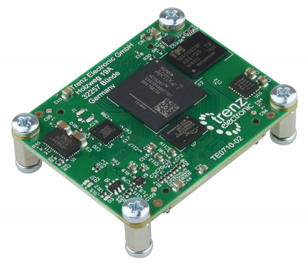 Dual fast Ethernet Artix Module with Xilinx Artix-7 35T Speedgrade 2C