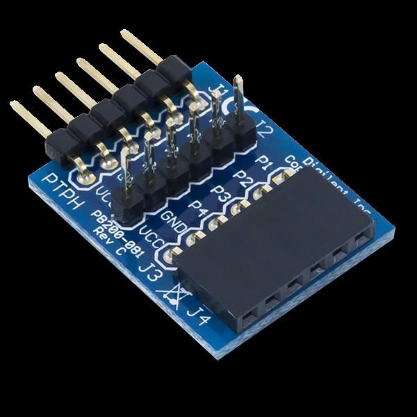 Pmod TPH: 6-pin Testpunkt-Stiftleiste