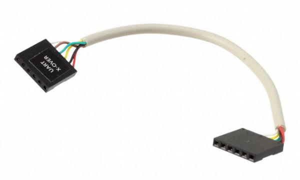 UART Crossover Cable, 6-pin