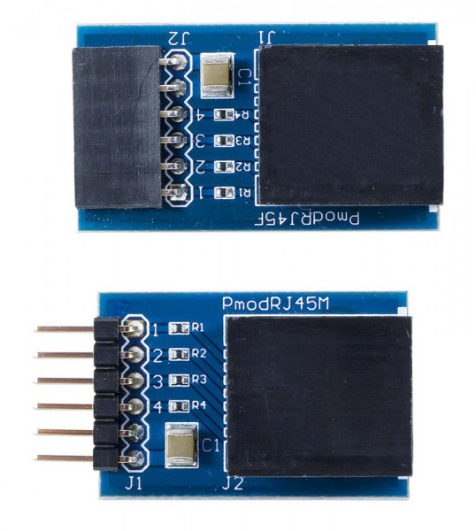 Pmod RJ45: RJ45 connector (pair)