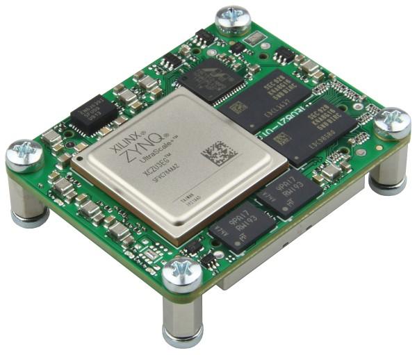 MPSoC-Modul mit Xilinx Zynq UltraScale+ ZU3EG-1, 2 GByte DDR4 SDRAM, 4 x 5 cm