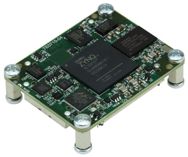 SoC-Modul mit Xilinx Zynq XC7Z015-2CLG485I, 1 GByte DDR3L, 4 x 5 cm