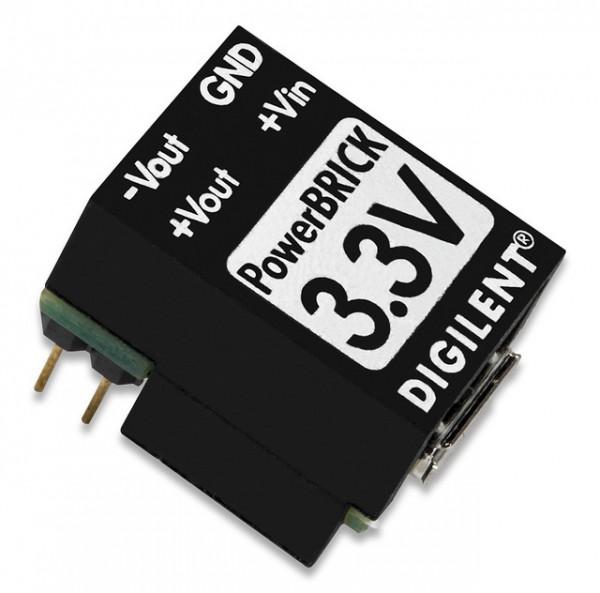 PowerBRICKS: Breadboard-fähige USB Netzteile ±3,3V (320mA) mit dualem Ausgang