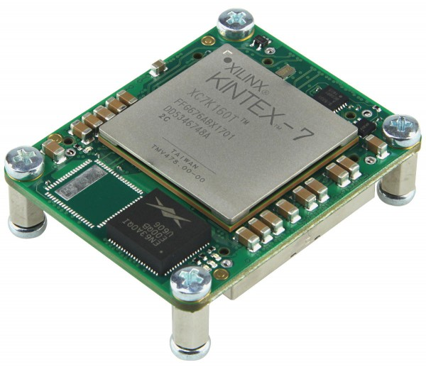 FPGA Module with Xilinx Kintex-7 XC7K160T-2C1, 4 x 5 cm standard footprint