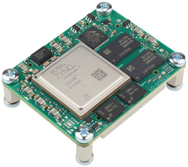 MPSoC-Modul mit Xilinx Zynq UltraScale+ ZU3CG-1E, 2 GByte DDR4 SDRAM, 4 x 5 cm