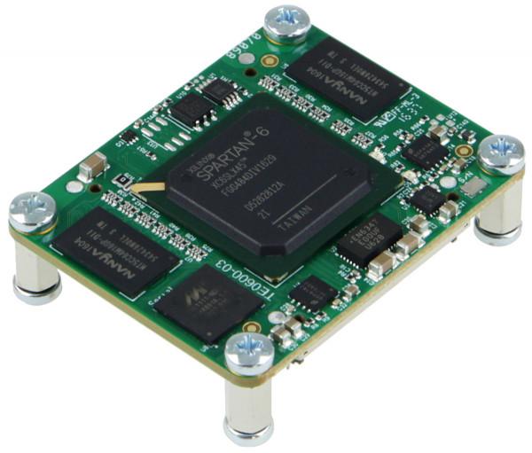 GigaBee XC6SLX45-2, 2 x 128 MByte SDRAM, industrieller Temperaturbereich