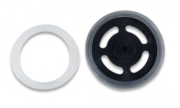 Sticky Rubber Tires (Pair): Kraton Polymer Wheel Covers