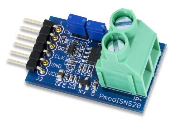Pmod ISNS20: 20A Current Sensor