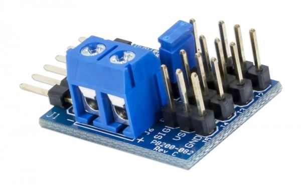 Pmod CON3: R/C Servo Connectors