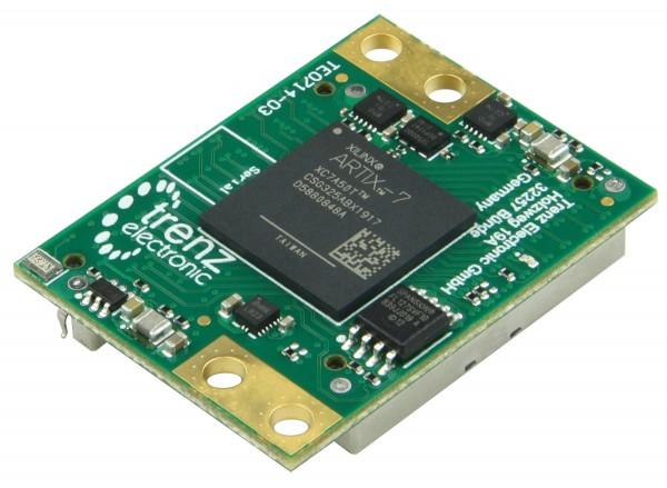 FPGA-Modul mit Xilinx Artix-7 XC7A50T-2CSG325I, 3,3V Konfiguration, 4 x 3 cm