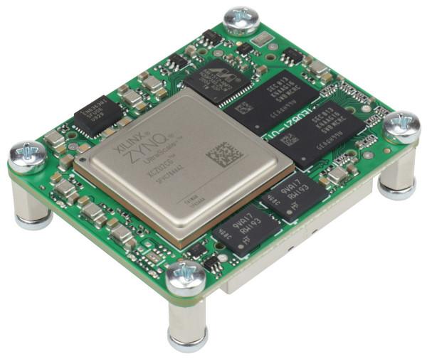 MPSoC-Modul mit Xilinx Zynq UltraScale+ ZU2CG-1E, 4 GByte DDR4, 4 x 5 cm