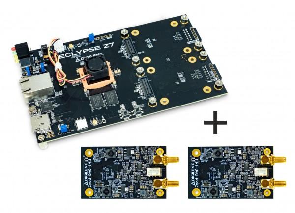 Eclypse Z7 Bundle with two Zmod DACs