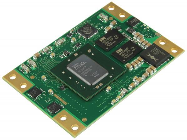 SoM with Xilinx Zynq XC7Z045-1FBG676C, 1 GByte DDR3 SDRAM, 5.2 x 7.6 cm