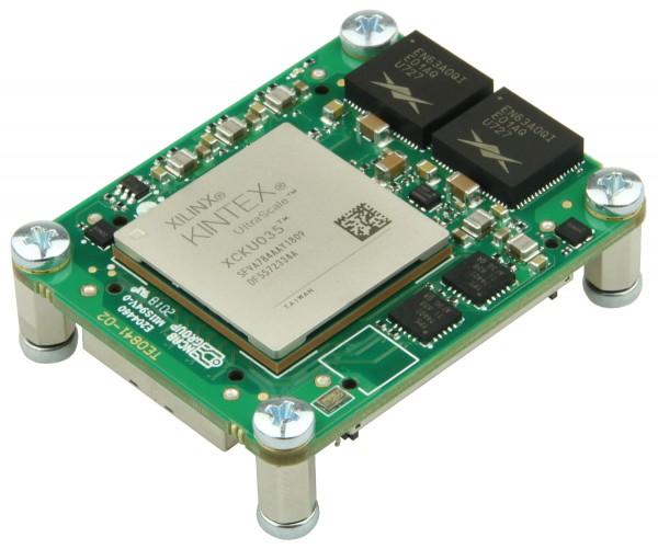 Mikromodul mit Xilinx Kintex UltraScale KU035, 2 GByte DDR4, 4 x 5 cm